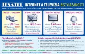 Internet a televízia Tesatel