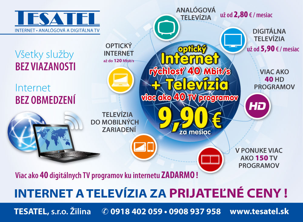Ku každému internetu TV programy zadarmo